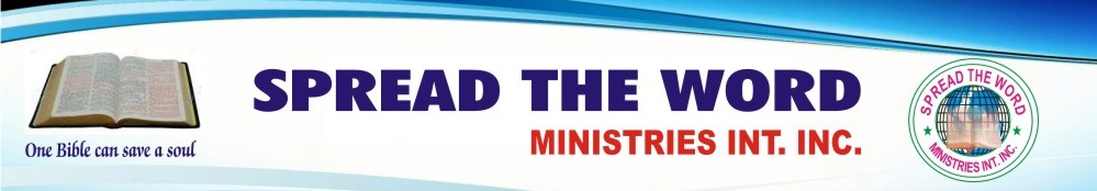 Spread The Word Ministries Int. Inc Logo